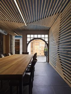 interior design wall treatments wood - Google Search