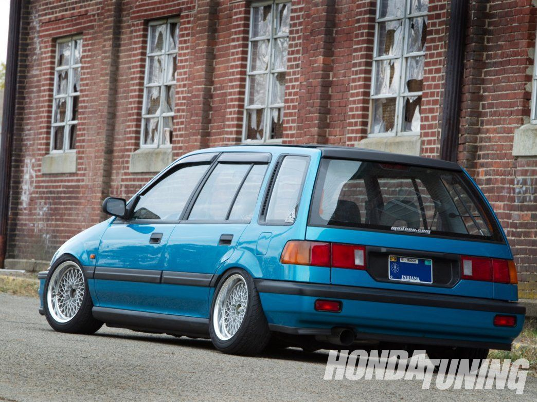 Image detail for 1989 honda civic wagon car picture car wallpaper which help you