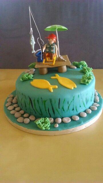 Angler Torte Motivtorten Bilder Diy Pinterest Torte Und Kuchen