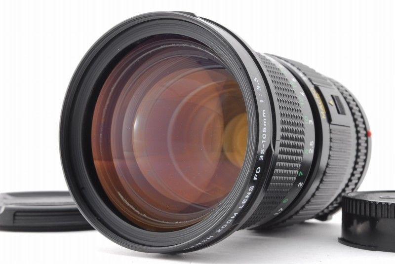 Excellent Canon New Fd 35 105mm F 3 5 Zoom Macro Mf Lens From Japan 105 Canon Canon Digital Camera Canon Camera Digital Camera