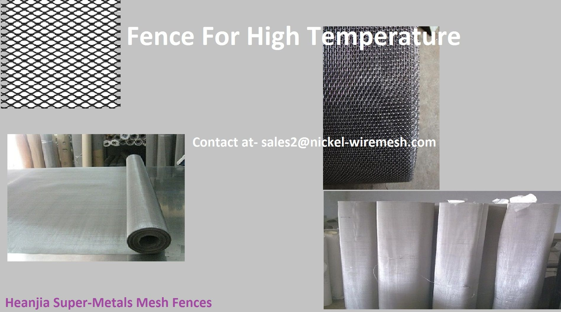 Fencing mesh for high temperature applications | Mesh Products for ...