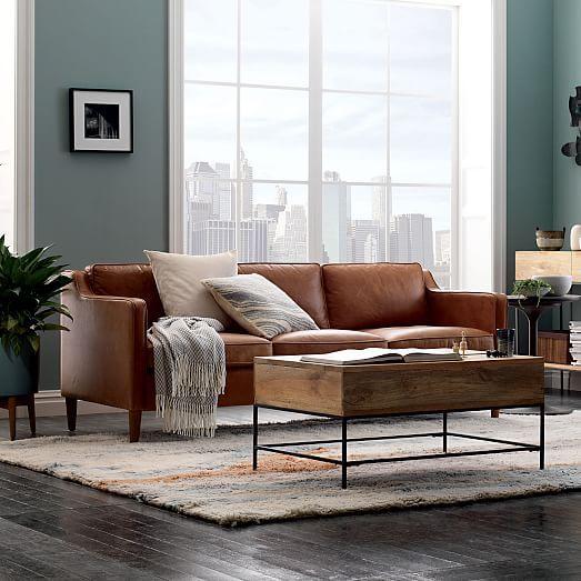Hamilton Leather Sofa Leather Sofa Living Room Leather Couches