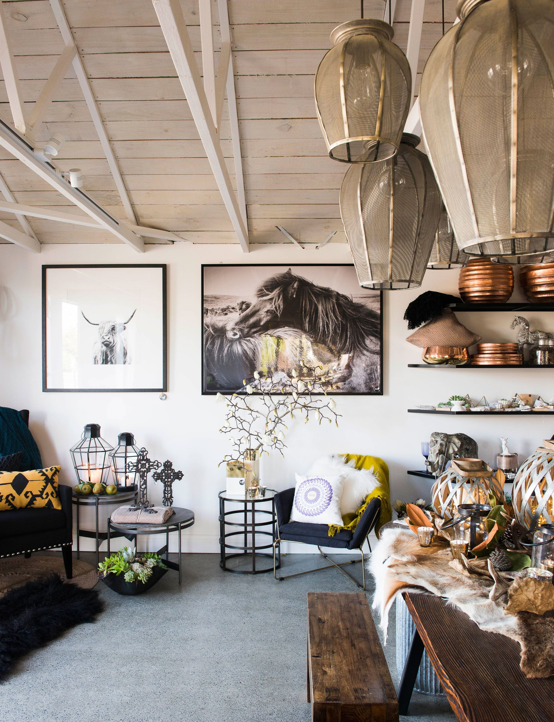 An inside look at the boutique design and homeware store studio