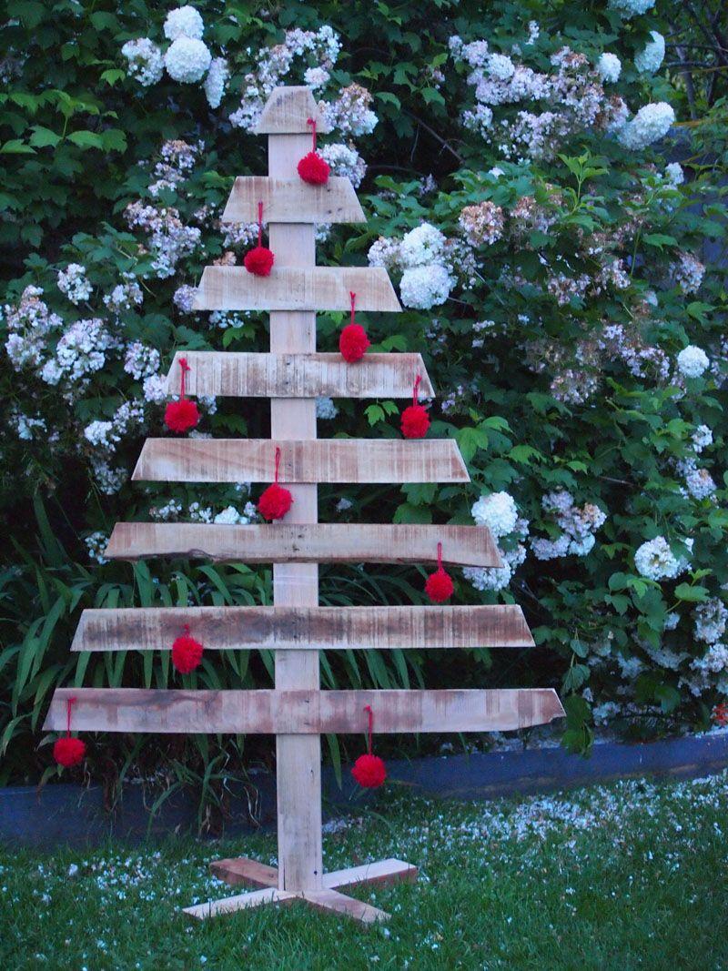 Making a pallet Christmas tree | Xmas | Christmas, Christmas ...