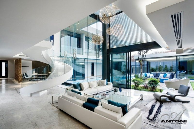 Modern Interieur Herenhuis : Sala home in interieur design and home