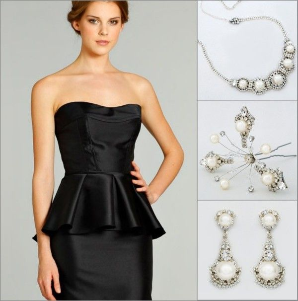 Pearl Jewelry | Fashion Black Passion | Pinterest