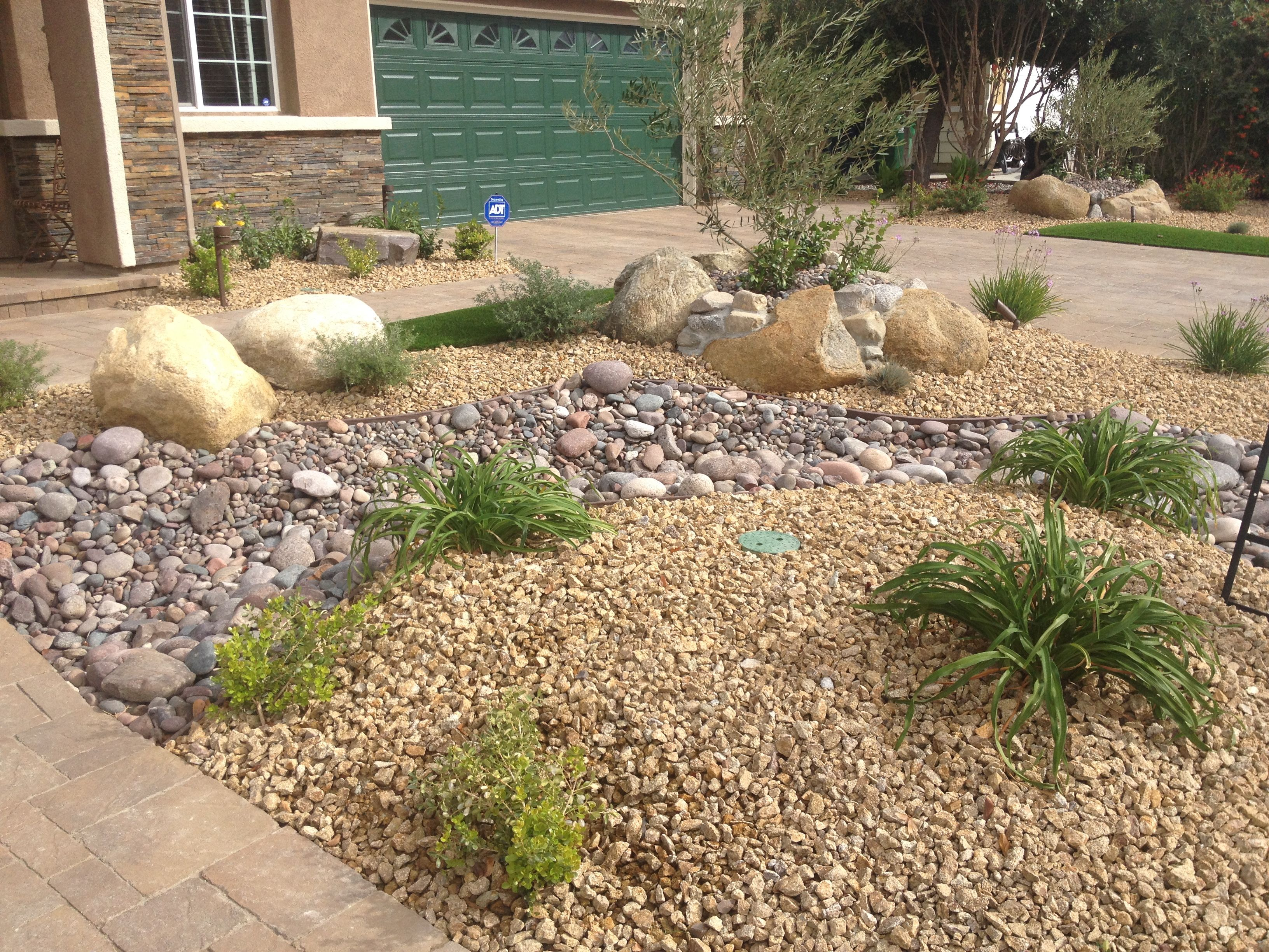 Crushed Rock Landscaping : Apache gold gravel quot is a crushed granite rock that