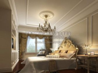 Download 3d Max Model Scene European Luxury Bedroom Interior in