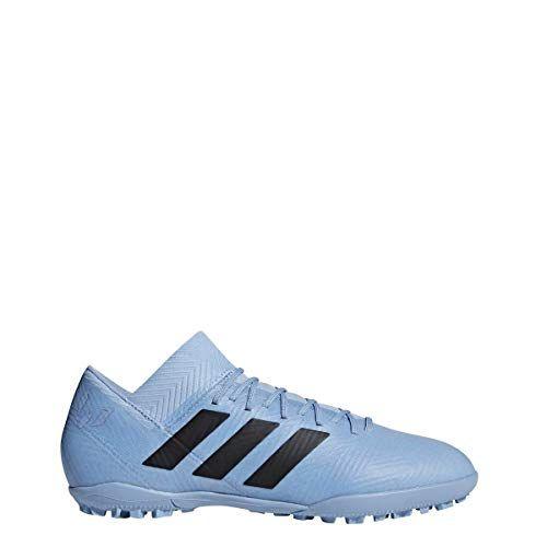 fc5639492 adidas Men s Nemeziz Messi Tango 18.3 TF Ash Blue Black Raw Grey 6.5 D US D  (M)