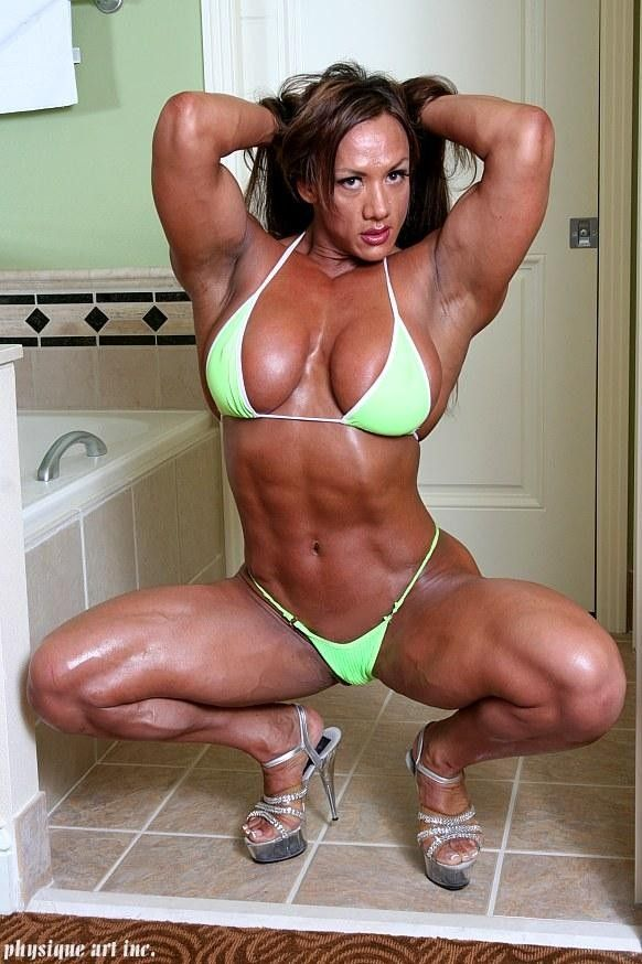 Amber De Luca   Body building women, Muscle women, Muscle