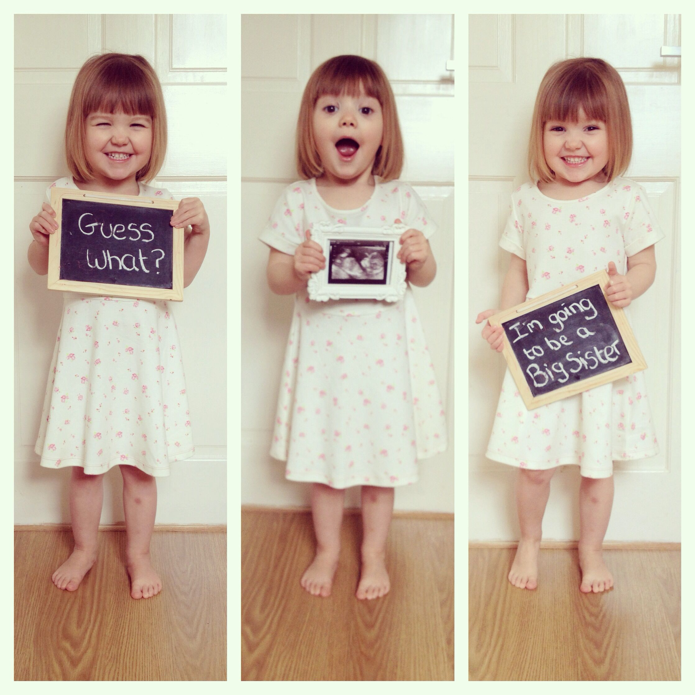 Big Sister Announcement With Images