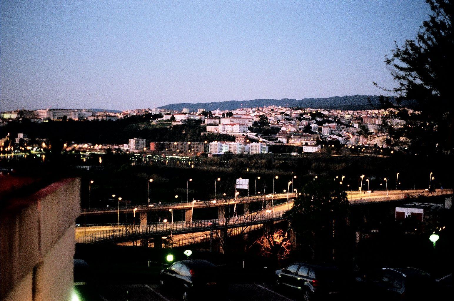 Coimbra at night. Portugal