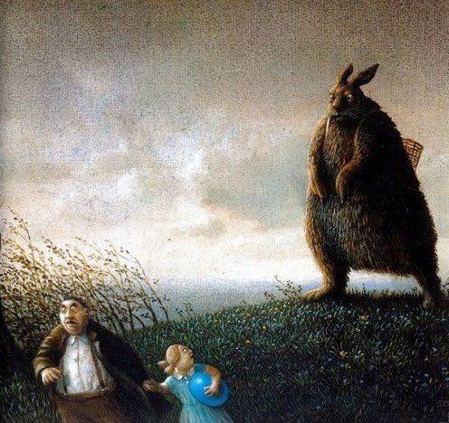 Monster Easter Bunny
