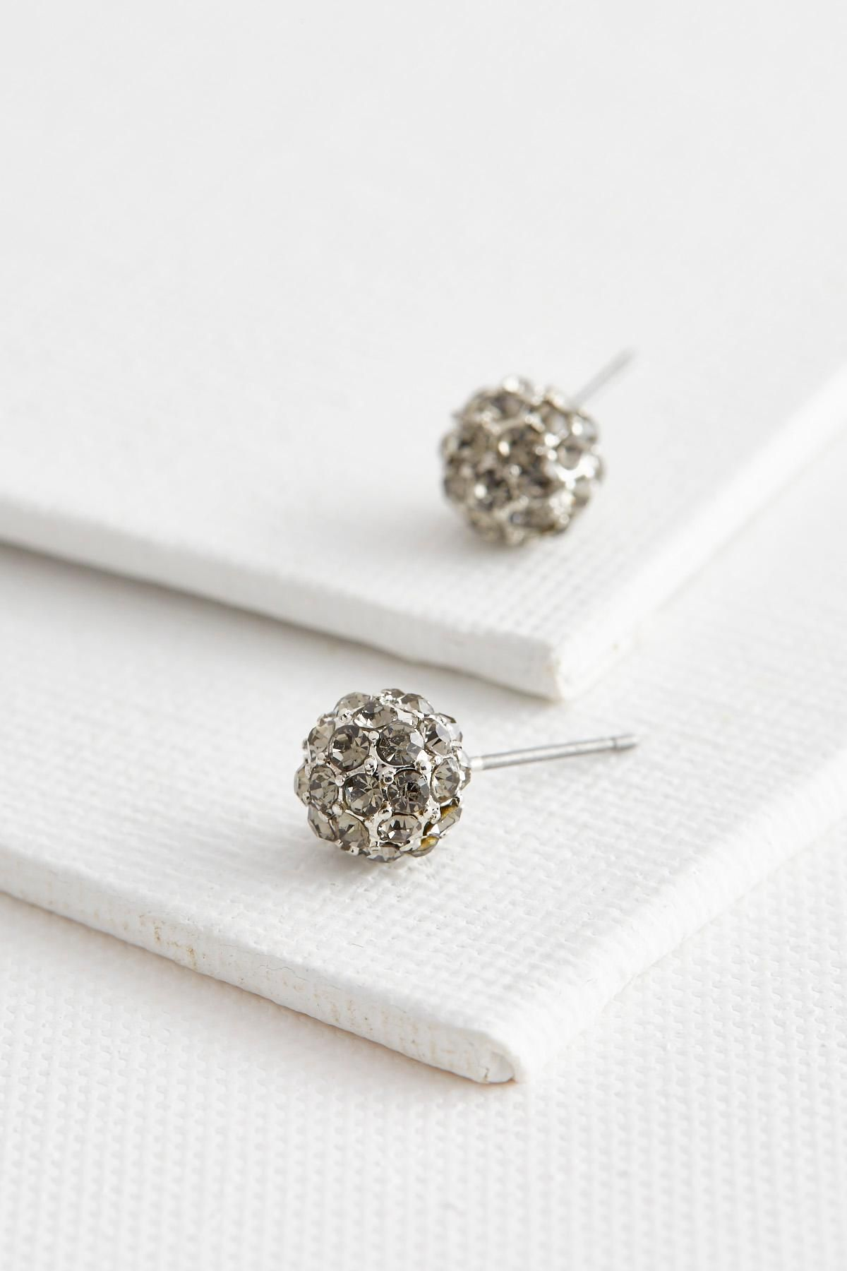 Dainty glistening rhinestones give an oh so chic feel to these pave