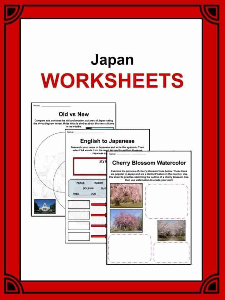 Japanese Worksheets For Kindergarten