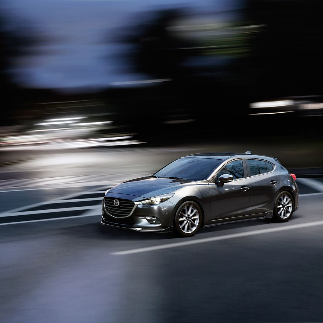 2018 Mazda Mazda3 Hatchback With The Aero Package Available Soon At