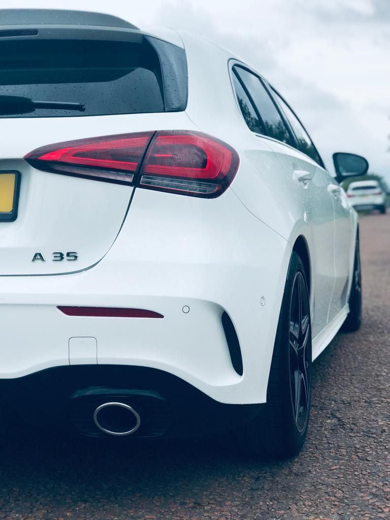 Amg A35 White Amg A35 Hatchback Sports Car