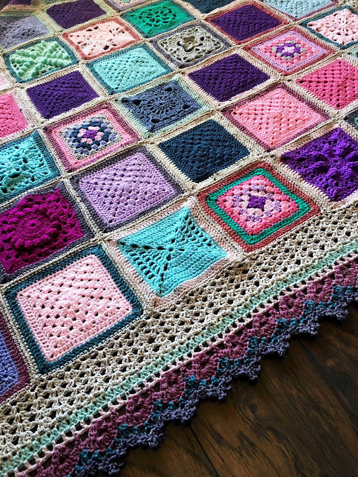 Vvcal Vibrant Vintage Crochet Blanket  Main Info Page (2016