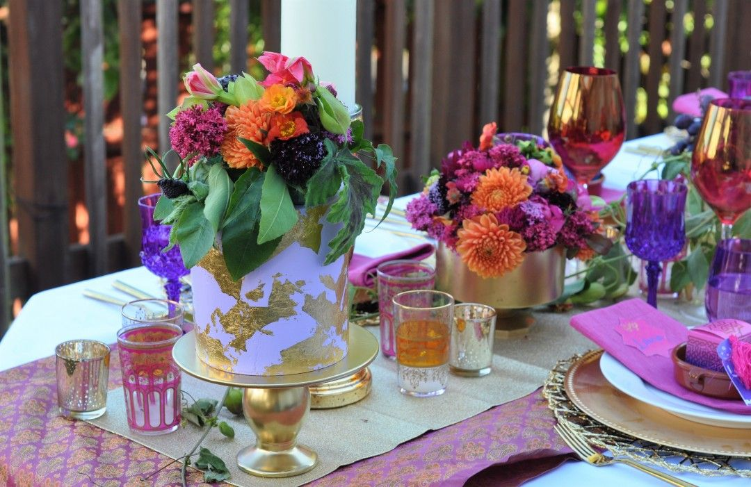 a08f522e394a Jewel Tone Arabian Nights Bridal Shower