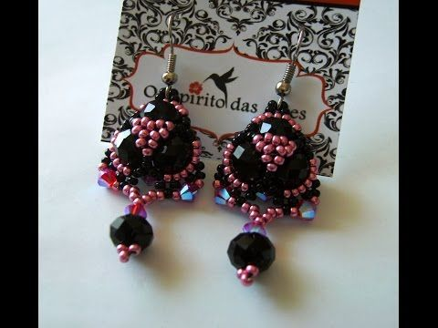 "DIY - ""Tróia"" Earrings - YouTube"