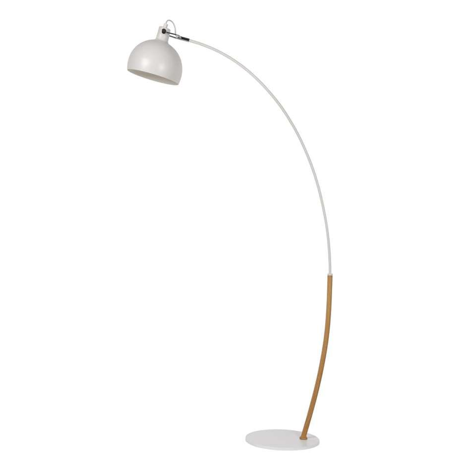 Lucide vloerlamp Dumbo - wit | Leen Bakker - vloerlamp achter bank ...