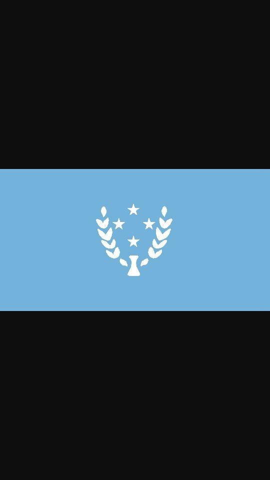 Kosrae Flag Kosrae Micronesia Flag