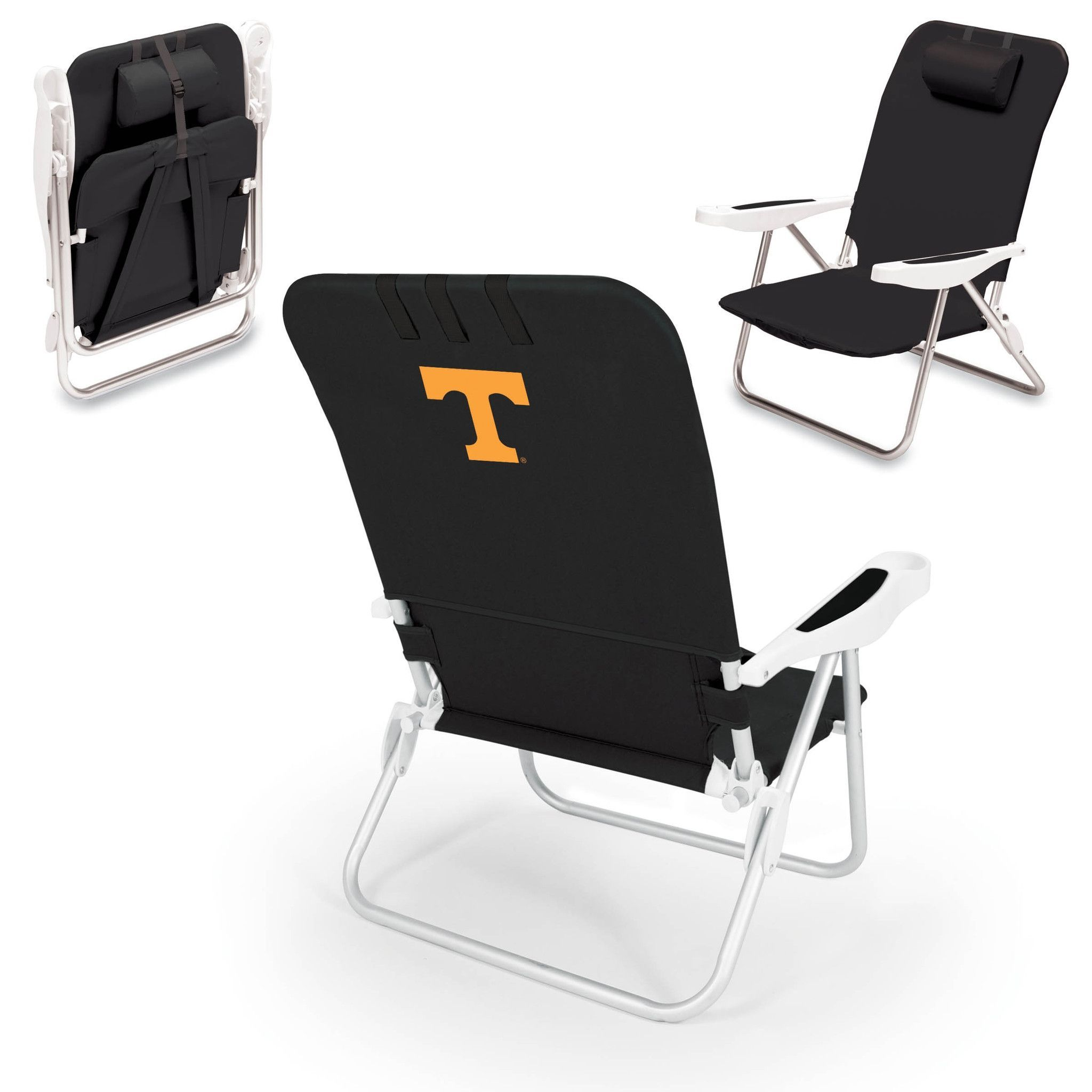 Tennessee Volunteers Beach Chair Monaco by Picnic Time