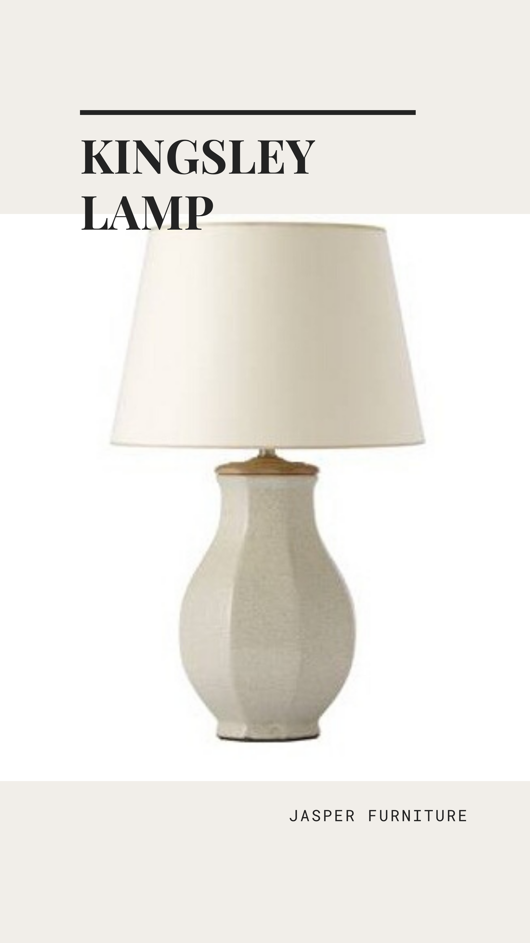 Kingsley Table Lamp From Jasper Lighting In 2020 Lamp Lighting Table Lamp