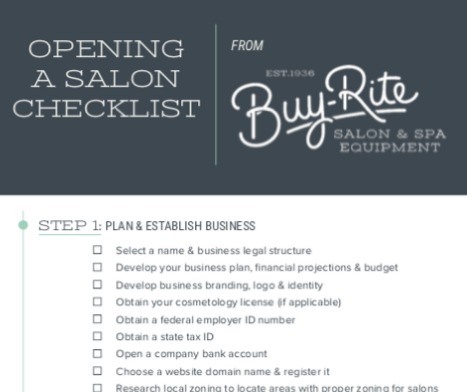 Have you been thinking about opening your own salon? We