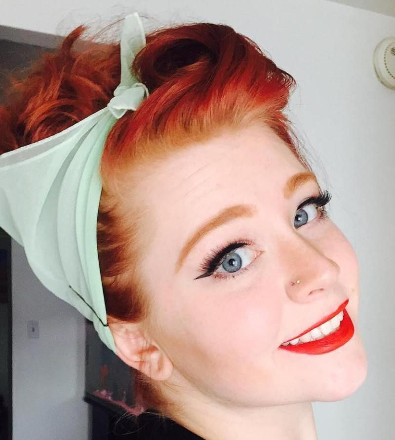 20 Gorgeous Bandana Hairstyles For Cool Girls Pinterest Updo