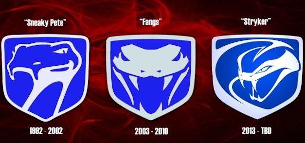 L Evolution Du Logo De Viper En Attendant La Voiture Dodge