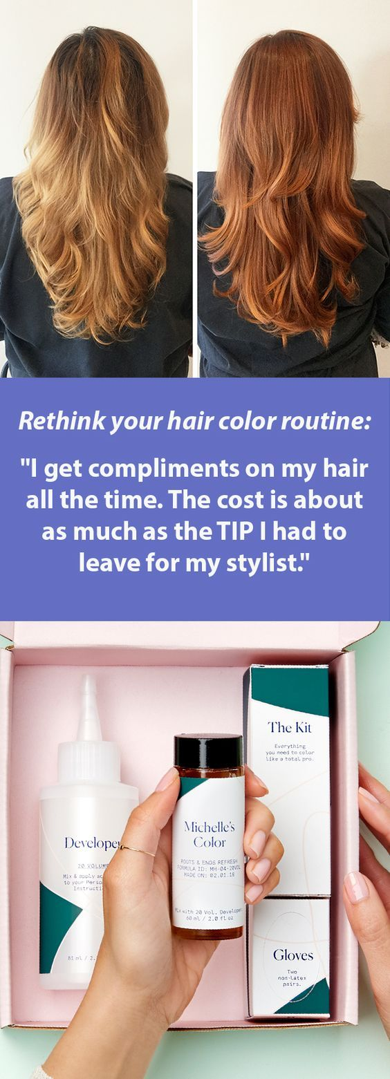 Rethink your hair color routine: