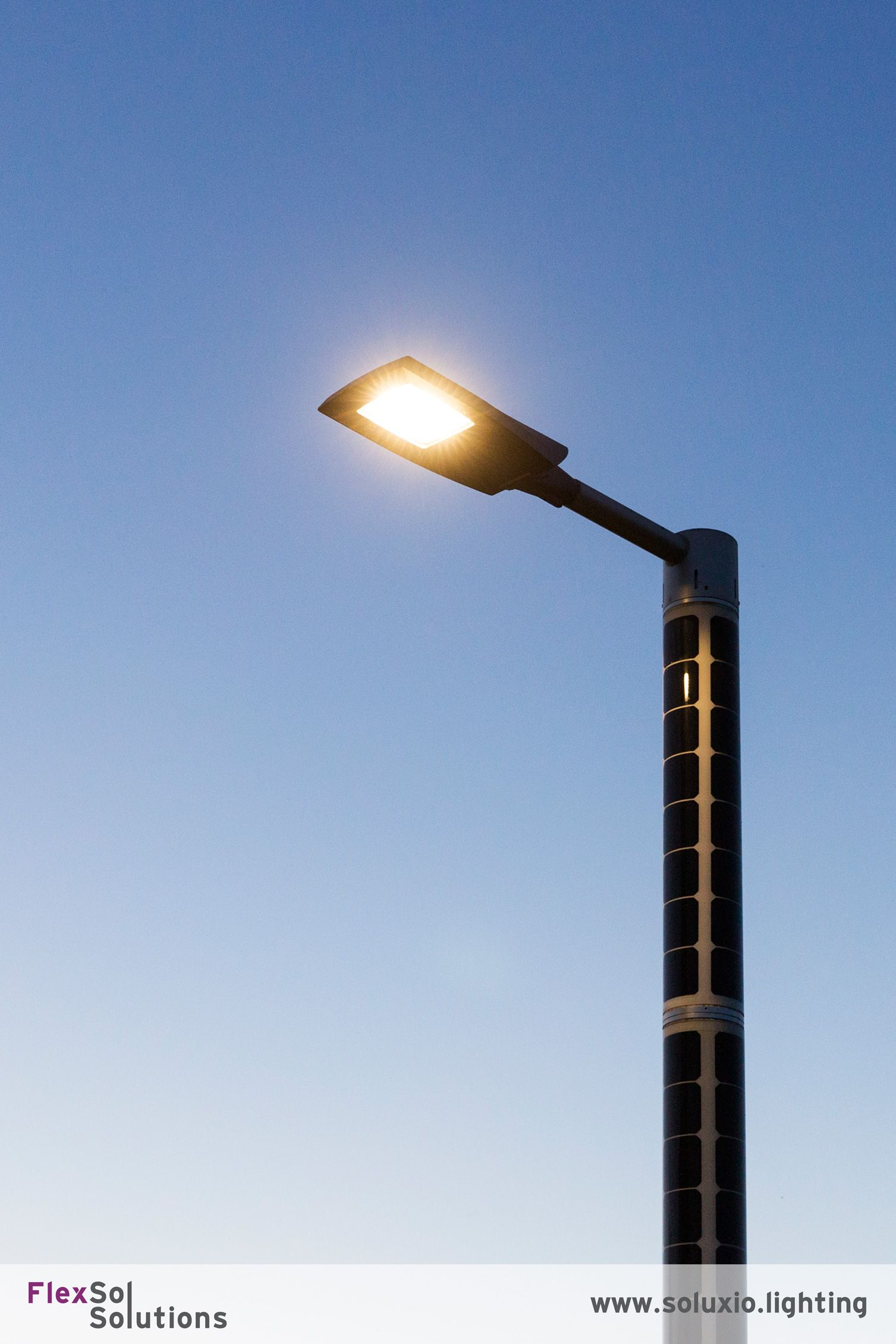 Solar Lamp Buiten The Soluxio The Most Advanced Solar Powered Streetlight Can Be