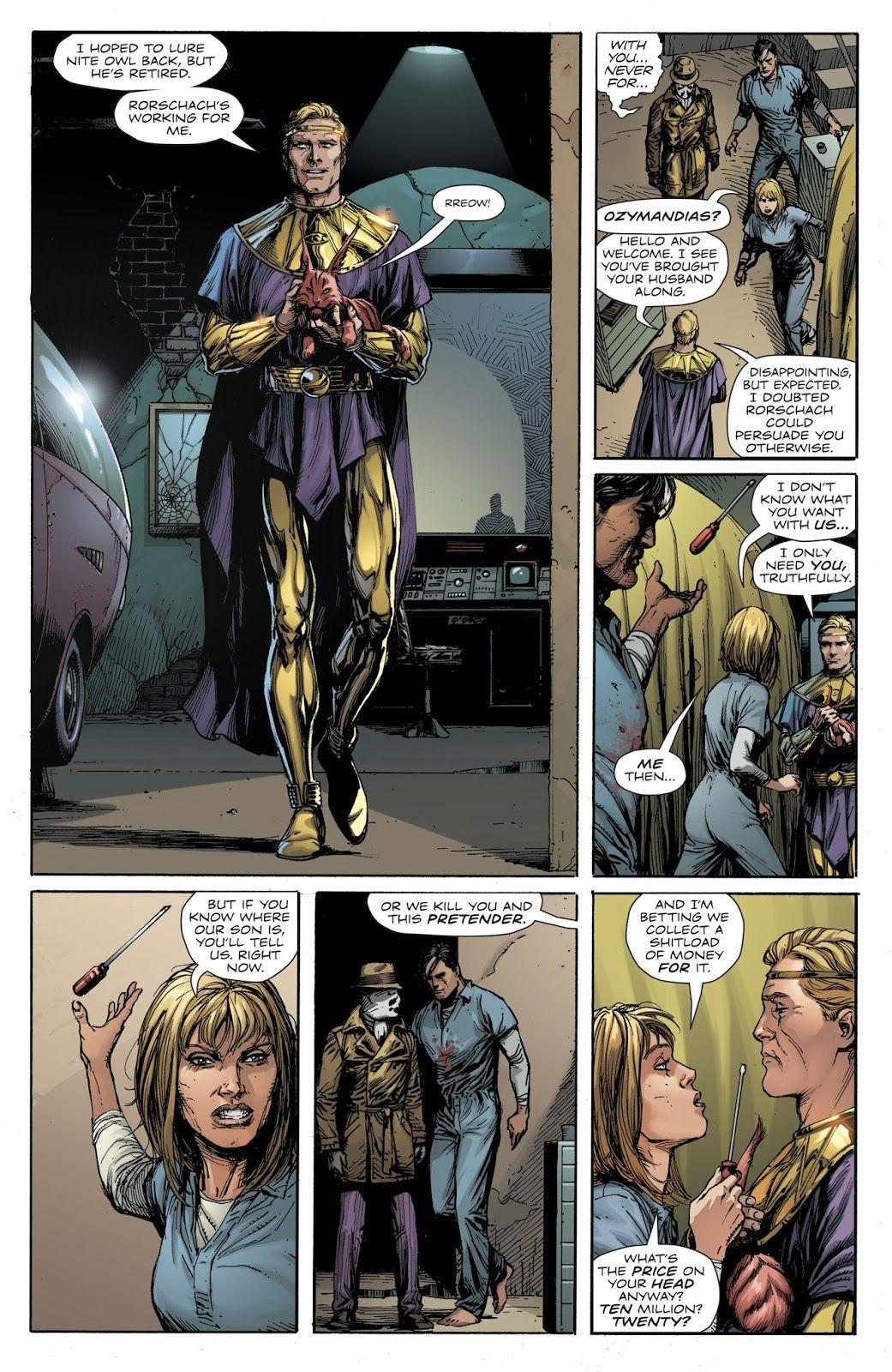 Doomsday Clock Issue 1 Read Doomsday Clock Issue 1 Comic