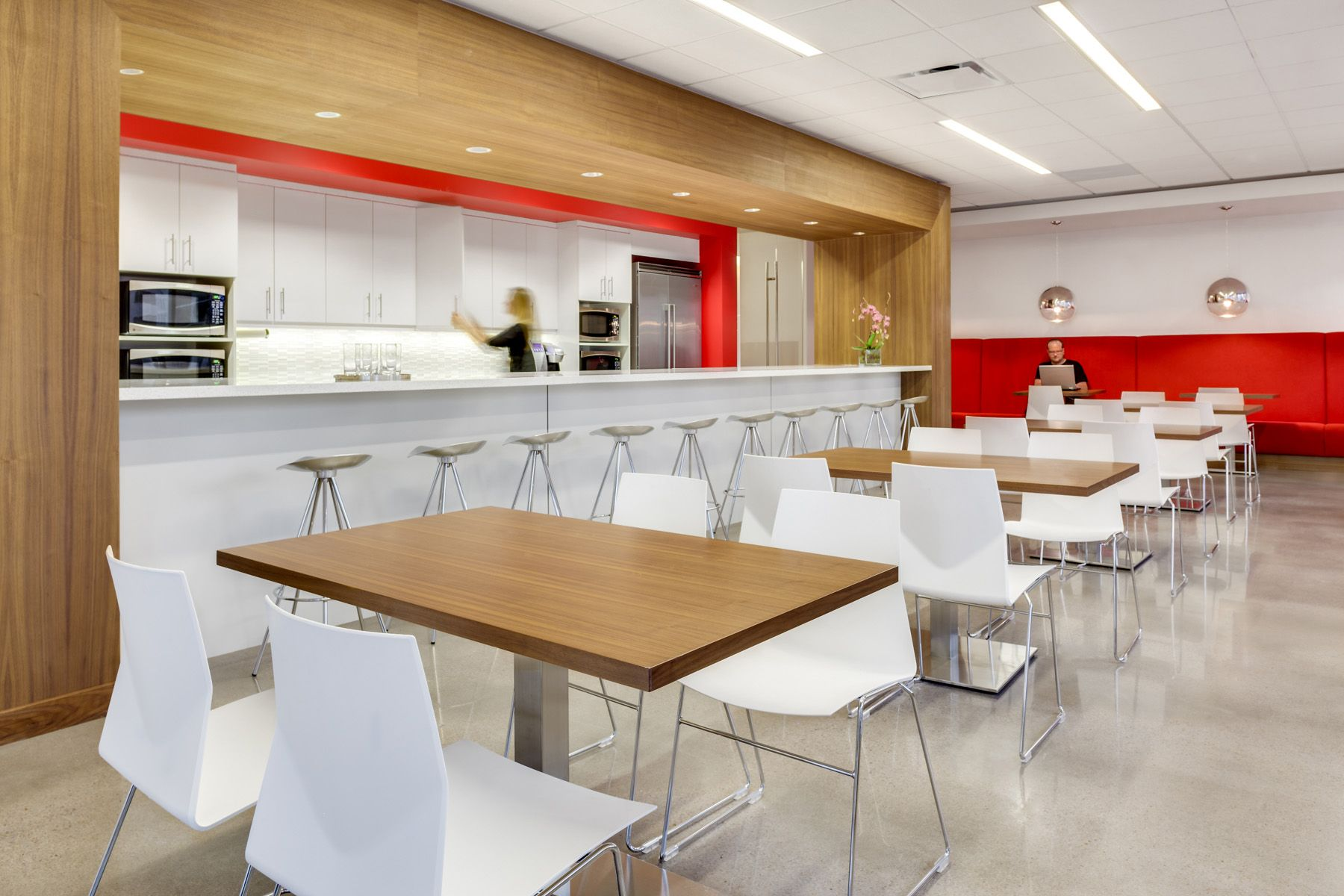 office nice looking break room design ideas in kitchen on best office colors for productivity id=83307