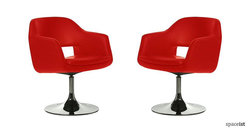 sc 1 st  Pinterest & Largo red leather meeting room chairs | MEETiNG CHAiRS | Pinterest