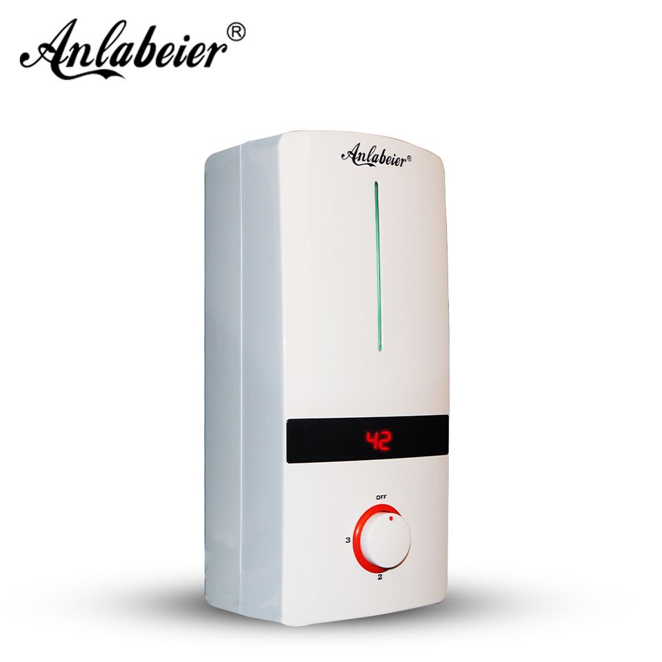 Constant Temperature Portable Bath Hot Shower Electric Tankless Water Heater  With Knob Switch