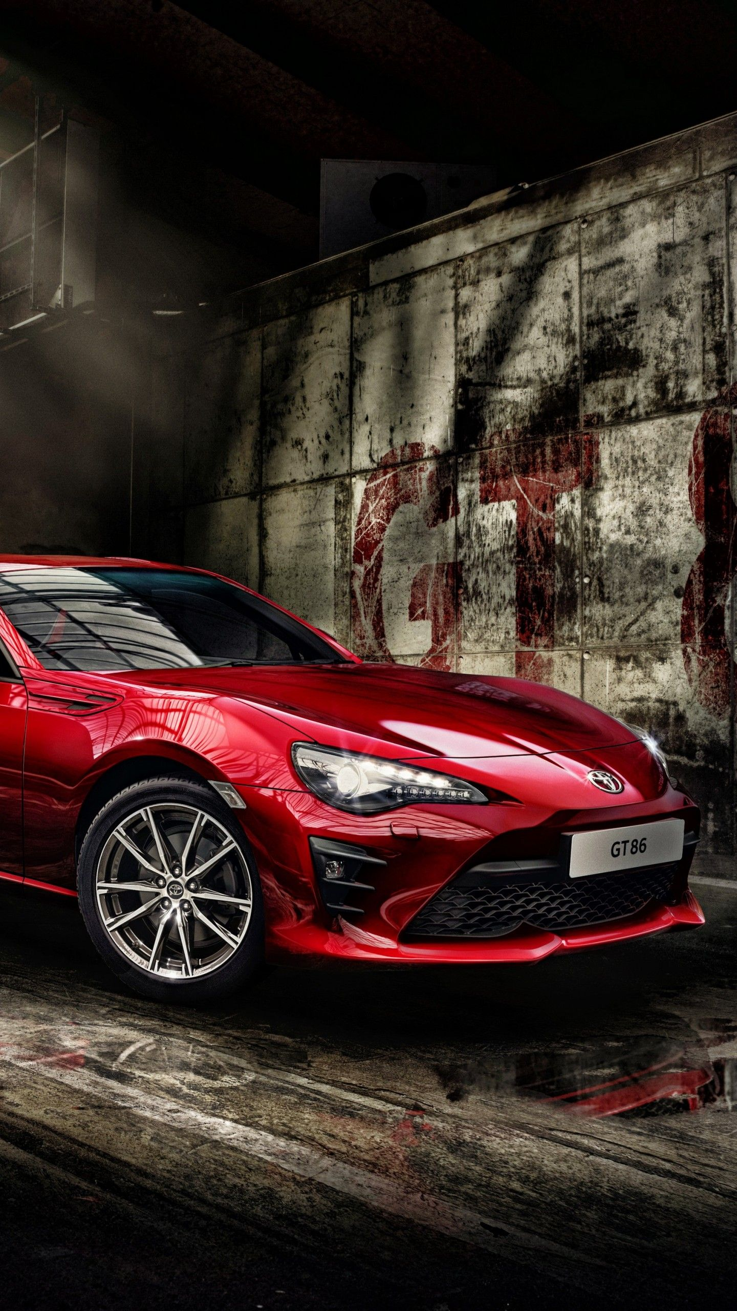 Wallpaper Toyota 86 Sports car 2017 4K Automotive