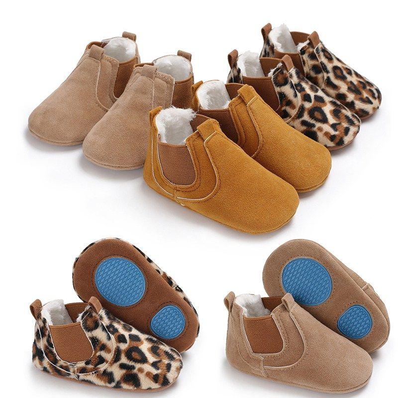 Baby Boy Girl Sandalias para niños pequeños de cuero suave suela zapatos de cuna