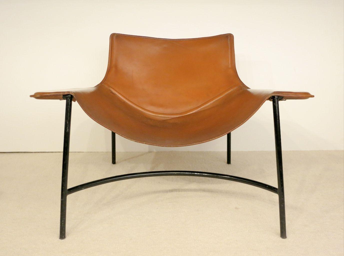 années 50, mobilier, structure tubulaire,Mathieu Mategot, fauteuil ...