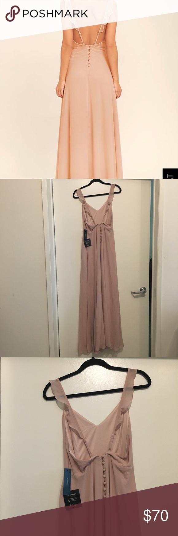 99131c374317 Lulu's Meteoric Rise Blush Maxi Dress (Large) Lulu's Meteoric Rise Blush  Maxi Dress, great bridesmaid/ wedding dress, floor length Lulu's Dresses  Maxi