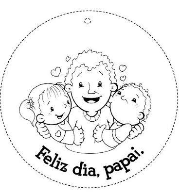 Cartoes E Recadinhos Para O Papai Pra Gente Miuda Desenho Dia