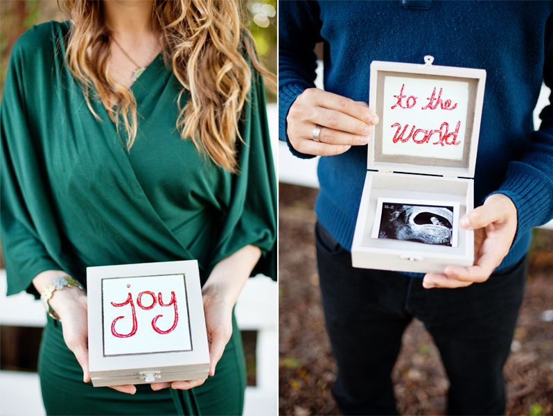 Announcing Pregnancy Ideas – Ultrasound Baby Announcements