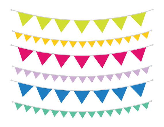Single Color Triangle Banner Clip Art Set Png Svg Vector Etsy Banner Clip Art Clip Art Banner