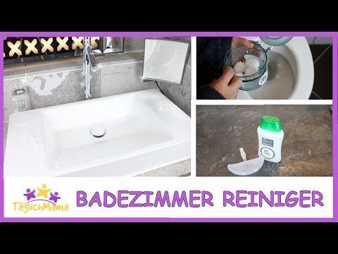 DIY BADEZIMMERREINIGER natürlich & günstig / Täglich