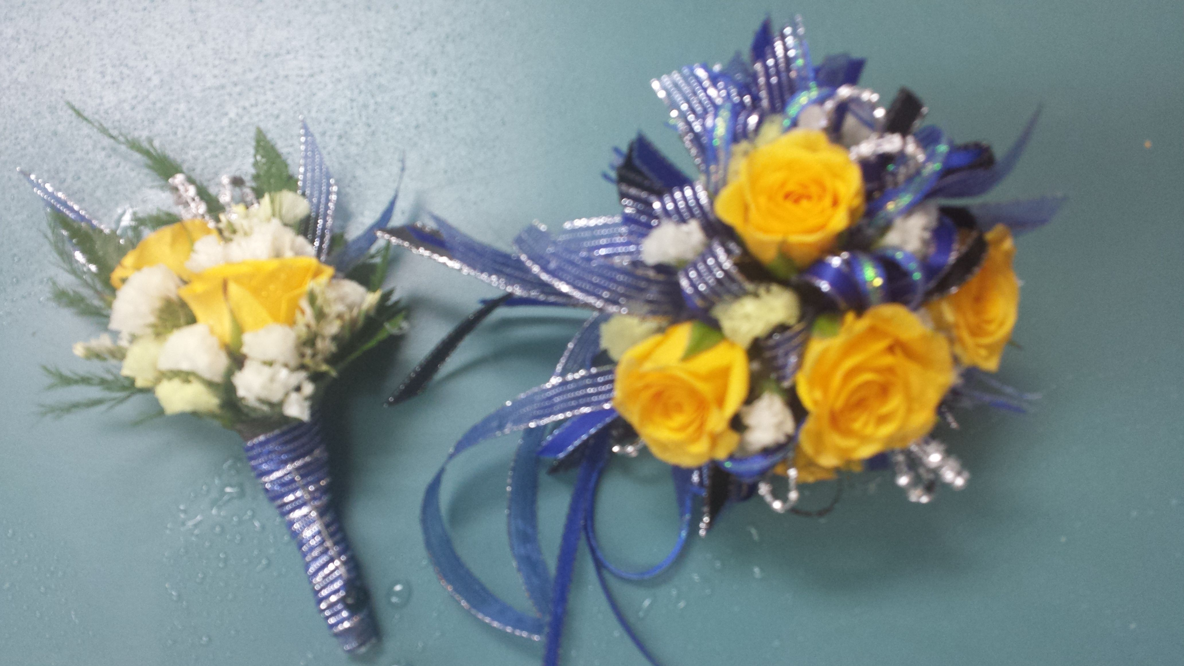 Prom Flowers from Gallery Florist and Gifts in Mebane, NC. www.galleryfloristandgifts.com