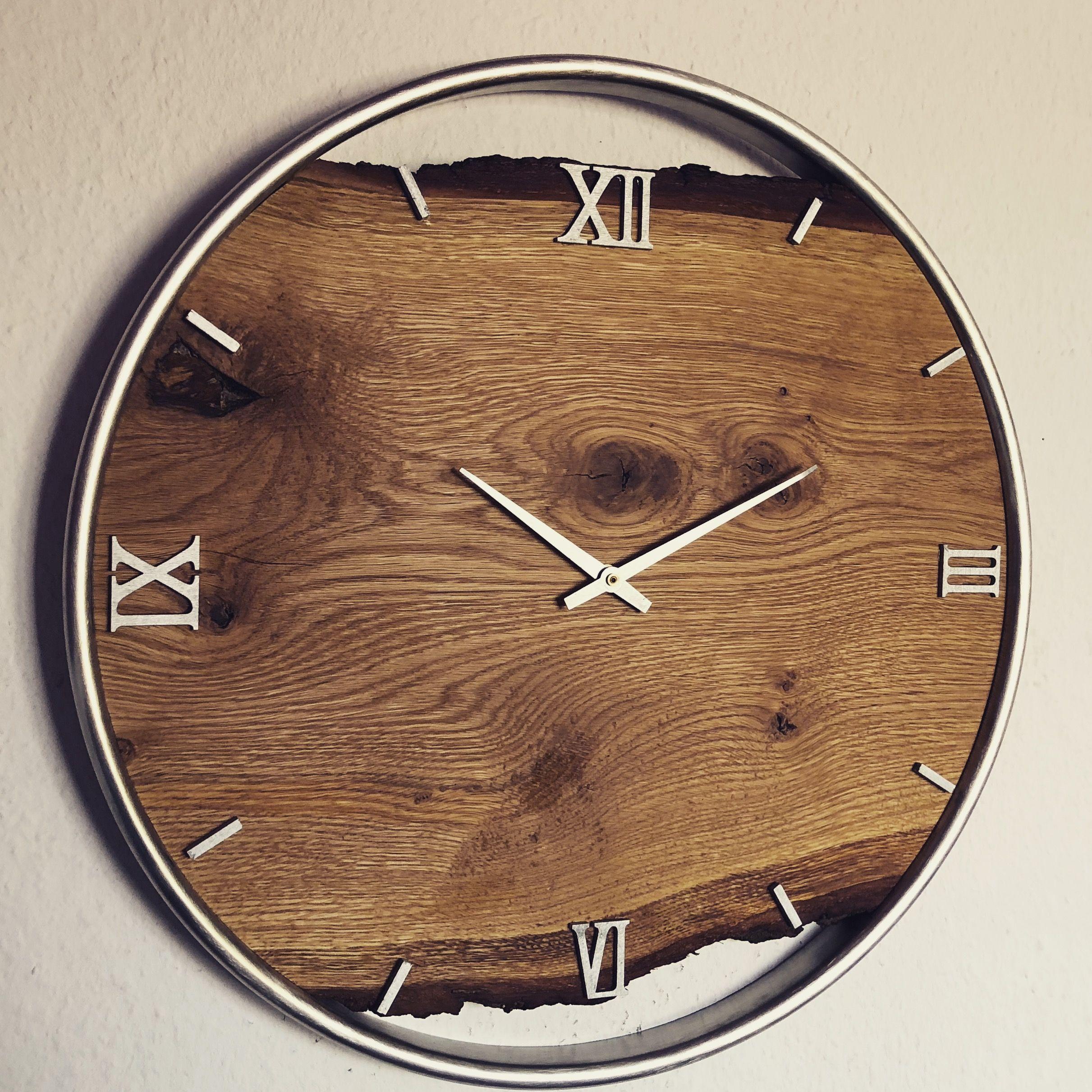 Pin von Sir Joel auf Clocks in 2019 | Wanduhr holz ...