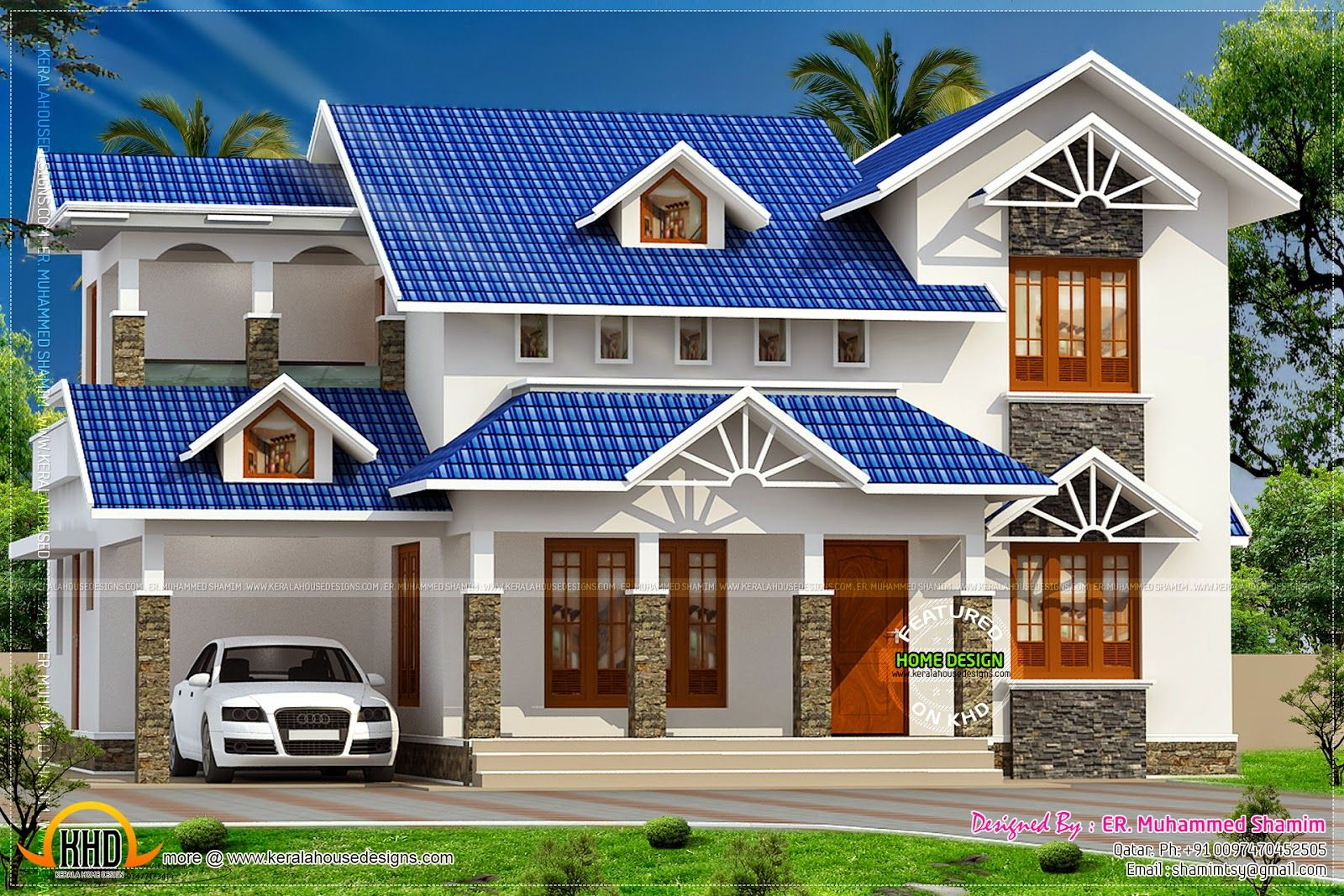 20 Roof Types For Your Awesome Homes Complete With The Pros Cons Roof Design Kerala House Design House Roof