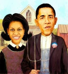 American Gothic - Grant Wood on Pinterest | American Gothic, Grant ...