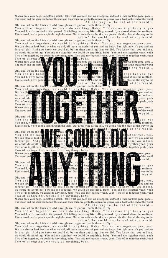 Lyric bartender dave matthews lyrics : You and Me Book Page - Dave Matthews Band (DMB) Lyrics Typography ...